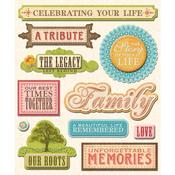 Life Memories Stickers