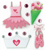 Little Dance Performer Stickers