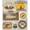 Lake Water Activities Stickers
