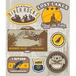 Lake Water Activities Stickers