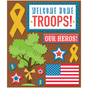 Welcome Yellow Ribbon Military Stickers