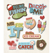 Daddy & Me Stickers