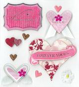 My Valentine Stickers