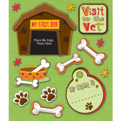 Pet Firsts Dog Stickers