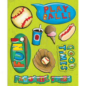 Baseball Game Stickers