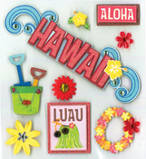 Hawaiian Bliss Stickers
