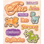 Fire Zodiac Sign Stickers