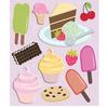 Desserts Stickers