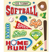 Softball Stickers