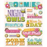 Roommates Stickers
