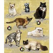 Variety Of Cats Stickers