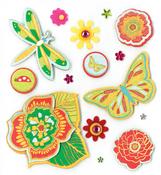 In The Garden Stickers