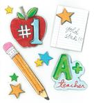 A+ Teacher Stickers