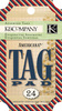 Americana Tag Pad Pad includes 24 assorted tags.