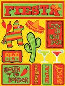 Fiesta 3D Stickers