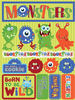 Monsters 3D Stickers