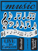 Music 3D Stickers