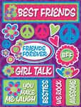 Best Friends Teen 3D Stickers