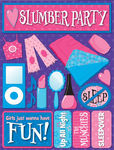 Girls Slumber Party 3D Stickers