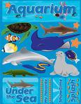 Aquarium 3D Stickers