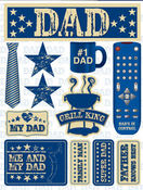 Dad 3D Stickers