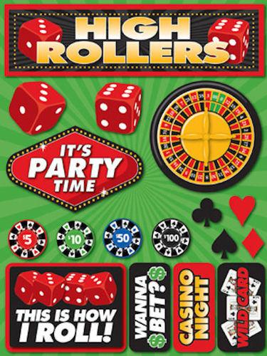 Casino 3D Icon Stickers - Reminisce