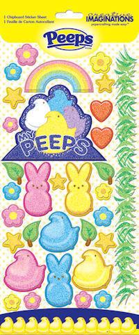 Peeps Chipboard Stickers - Peeps By Creative Imaginations