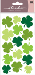 Large Shamrocks Sticko Stickers
