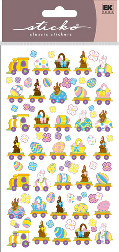 Easter Express Sticko Stickers