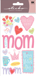 Happy Mother's Day Sticko Stickers