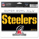 Steelers AFC Champions Decal - Wincraft