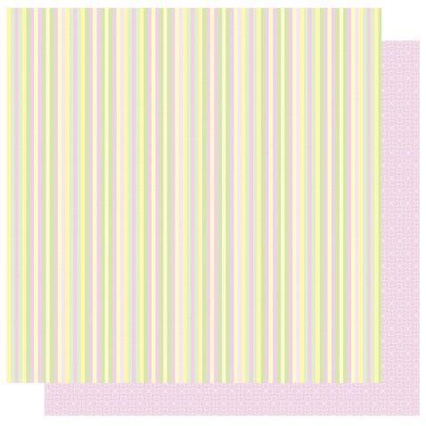 Thin Stripe  - Safari Girl  Glitter Paper