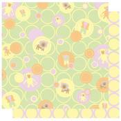 Baby Dots  - Safari Girl  Glitter Paper