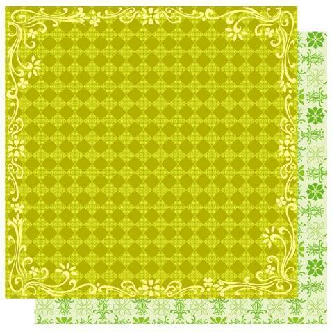 Lucky Diamonds  - St. Patrick's  Glitter Paper