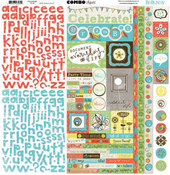Ad Lib Combo Sticker Sheet By Bo Bunny