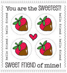 Sweet Strawberries We've Got Your Stickers Plus
