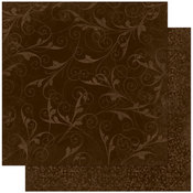 Coffee Flourish Paper By Bo Bunny