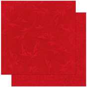 Wild Berry Flourish Paper By Bo Bunny