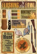 Upland Hunting Cardstock Stickers