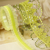 Lime Green Say It In Crystals Borders By Prima