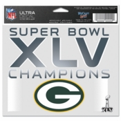 Super Bowl XLV Green Bay Packers Champions Decal