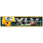 Green Bay Packers XLV Champions Bumper Sticker
