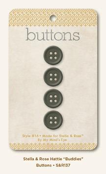 Buddies Buttons By My Minds Eye