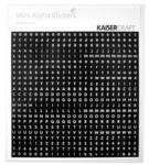 Black & White Mini Alphas - KaiserCraft