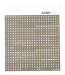 Chocolate & White Mini Alphas - KaiserCraft