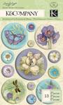 Botanical Snow Globe Stickers
