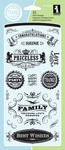 Vintage Expressions Clear Stamps By Inkadinkado