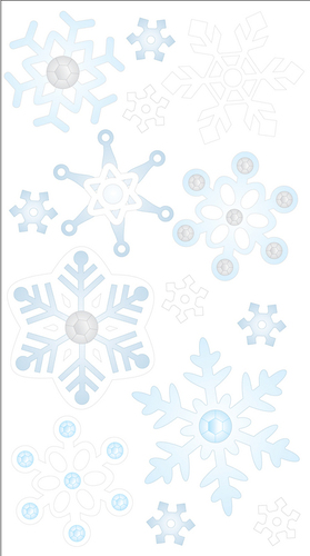 Snowflakes Stickers By Jolee's Boutique
