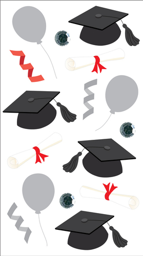 Graduation Stickers By Jolee's Boutique