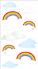Clouds & Rainbows Stickers By Jolee's Boutique